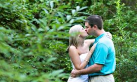 Duke Gardens Engagement Session | Lynn + Trevor