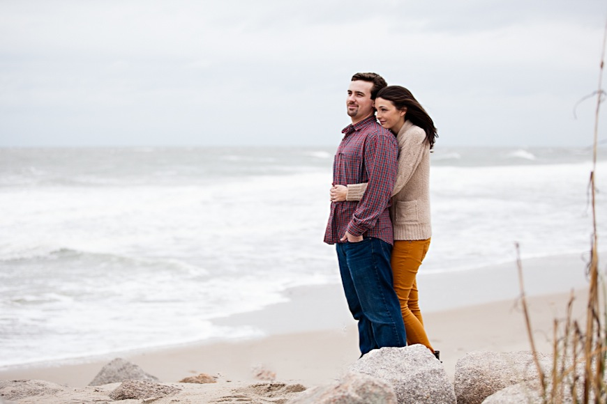 Read more about the article Fort Fisher Engagement Session | Allison + Tyler