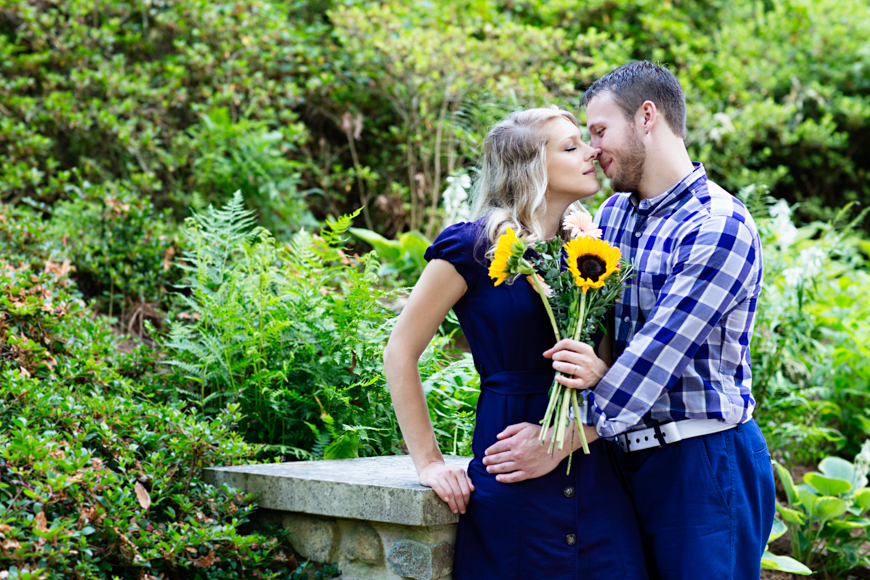Read more about the article Duke Gardens Engagement | Sasha + Justin