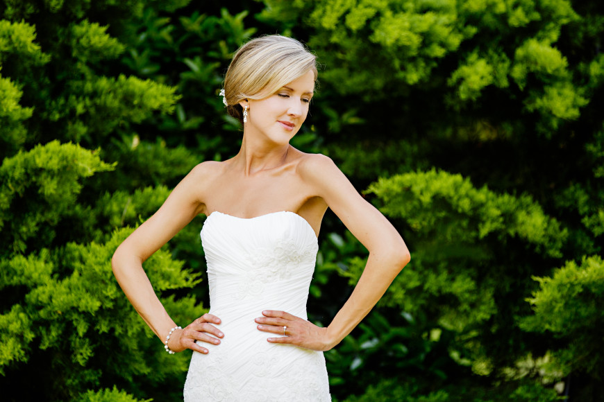Read more about the article Oaks at Salem Bridal Session | Alison