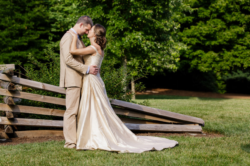 Read more about the article DIY Wedding in Greensboro | Erica & Lou