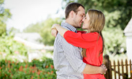 Mordecai Park Engagement Session | Barbara + Ryan