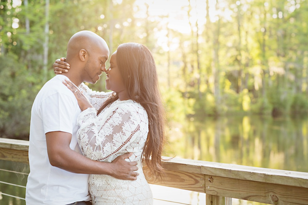 Read more about the article Downtown Wilmington Engagement | Kwanza + Torin