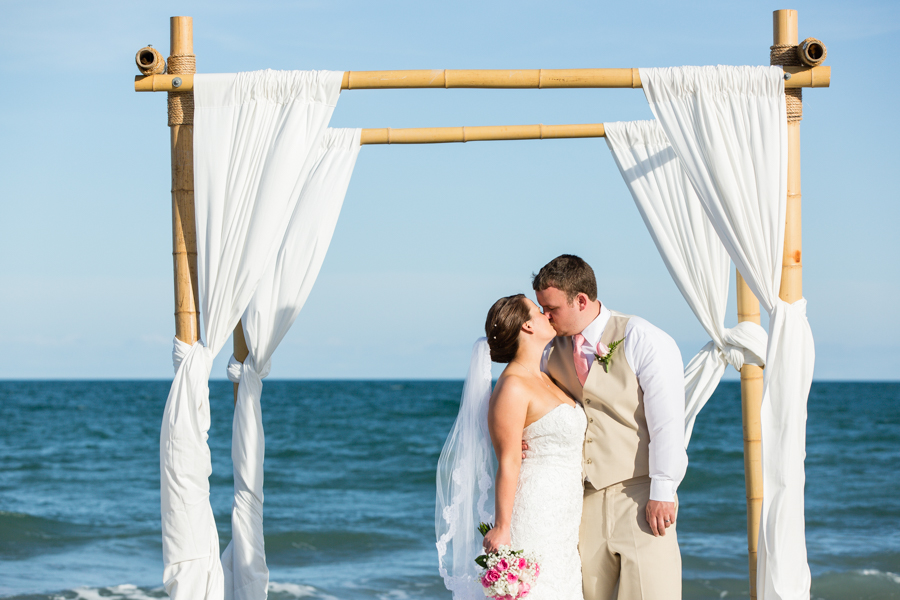 Intimate Topsail Beach Wedding | Kelsey + Justin