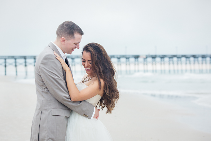 Topsail Beach Engagement Session | Livia + Kevin