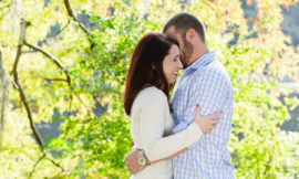 Greenfield Lake Engagement | Tiffany + Mike