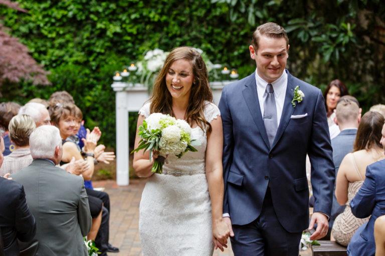 The Atrium by Ligon Flynn Wedding | Kristin + Jon