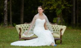 Bridal Session at The Barn at Rock Creek   Molly