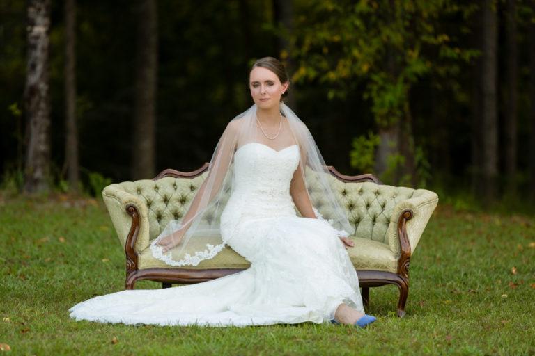 Bridal Session at The Barn at Rock Creek | Molly