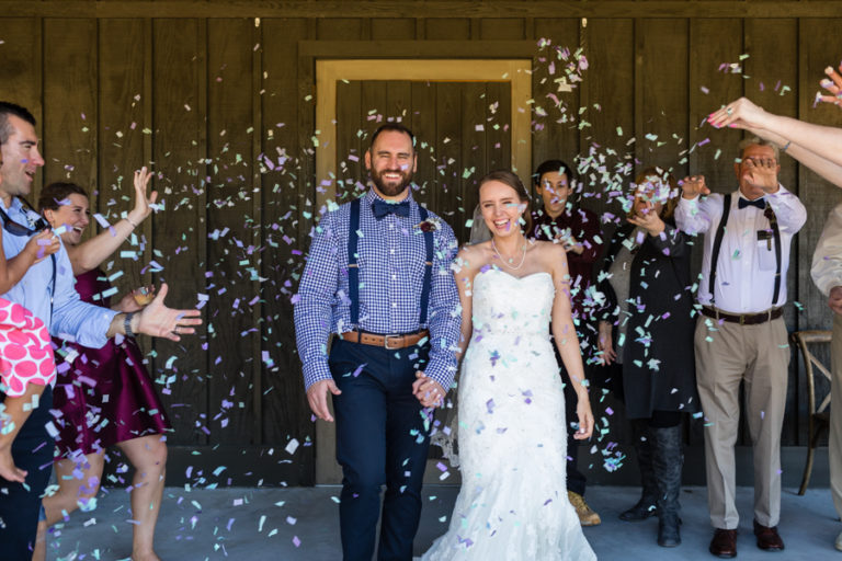 Fall Barn at Rock Creek Wedding | Molly + Tony