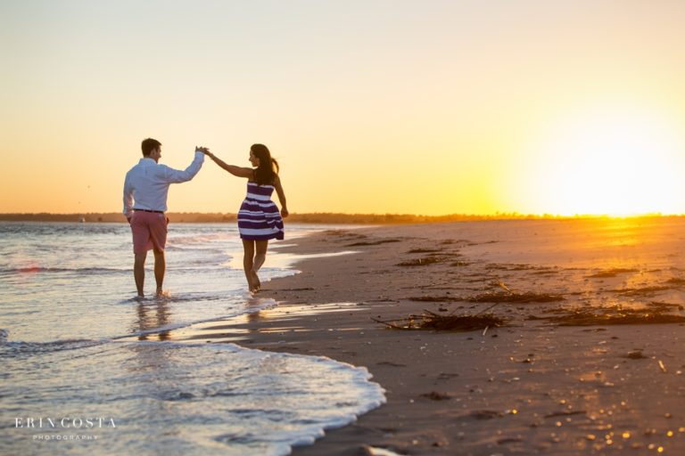 Engagement Session at Wrightsville Beach | Jennifer + Ryan