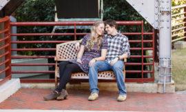 American Tobacco Campus Engagement Photos   Sarah + Brad