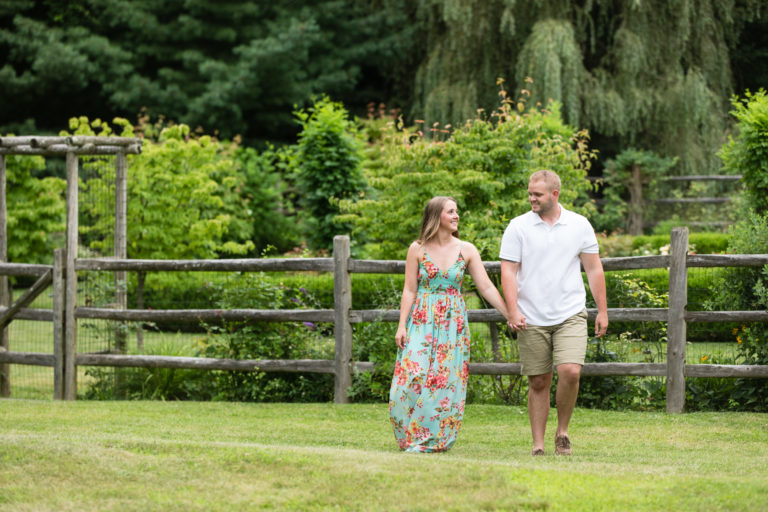 West Point NY Engagement Session | Melissa & Roger