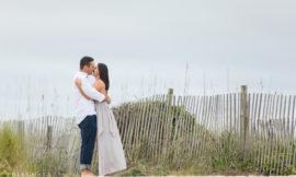 Winter Wrightsville Beach Engagement Session | Myrissa & Lance