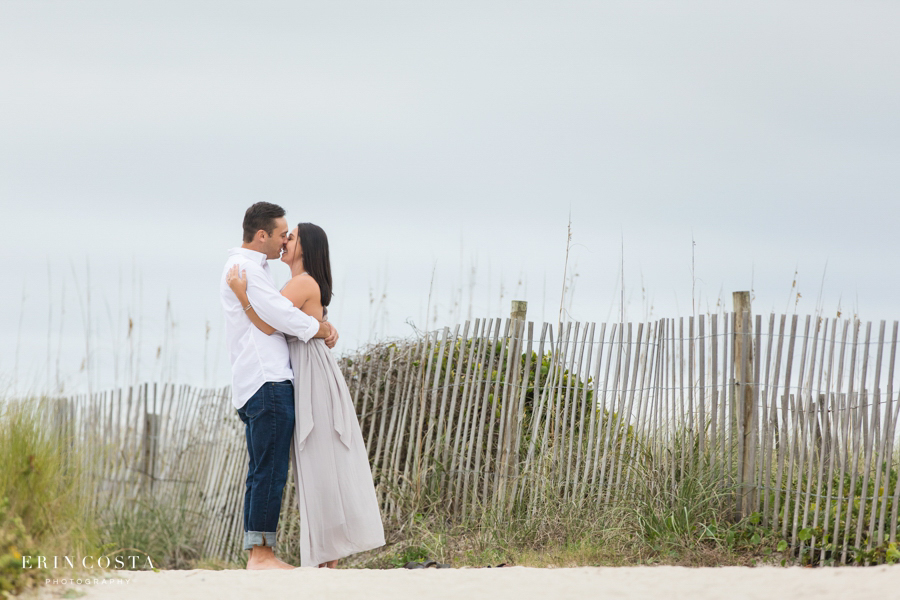 You are currently viewing Winter Wrightsville Beach Engagement Session | Myrissa & Lance