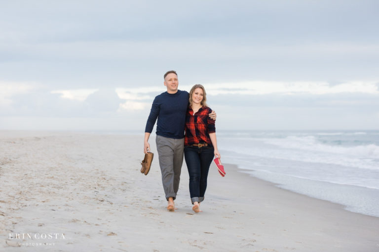Read more about the article Downtown Wilmington Puppy Engagement Photos | Jillian and Jimmy