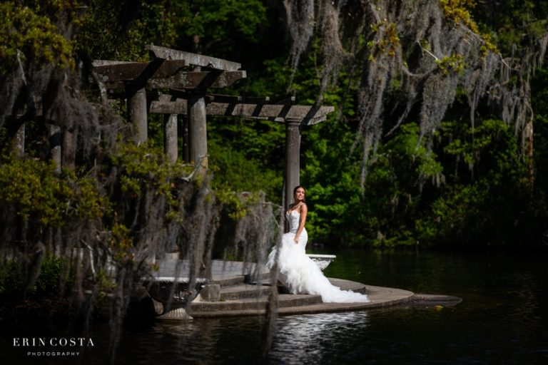 Airlie Gardens Bridal Photos | Angel