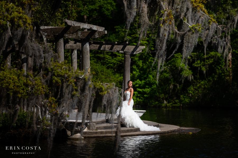 Airlie Gardens Bridal Photos | Angel
