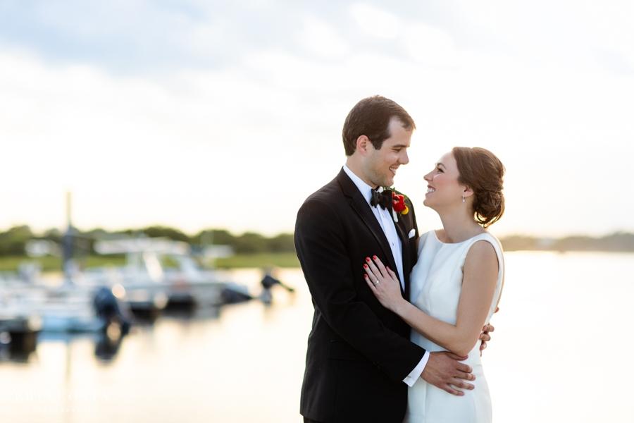 Figure Eight Island Wedding | Liz & Keaton