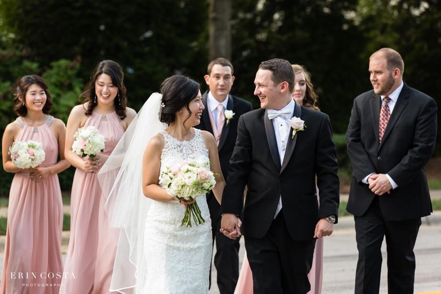 Wedding at the Glenwood in Raleigh   Lan & Matt