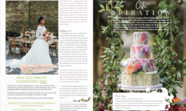 Published in Cape Fear Living Magazine Weddings