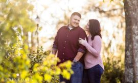 Greenfield Lake Engagement Session | Meaghan & John