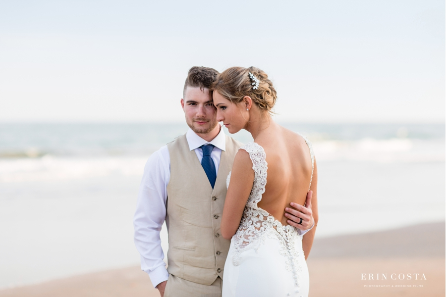 You are currently viewing Topsail Beach Elopement Photos | Alison & Damien