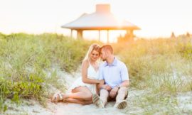 Wilmington NC Engagement | Claudia & Brandon